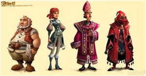 The Settlers 7 story charas 3 by ChristianNauck