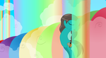 Taking A Rainbow Shower by Discourt