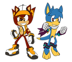 Stryke and Pogo Duo Commish. by Stealthfang