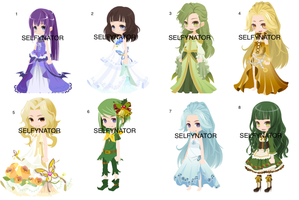 Free Christmas-ish Selfie Adopts (OPEN)! by Selfynator