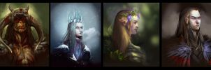 Misc Portraits by juliedillon