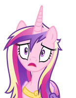 Cadance is shocked by 3luk