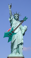 Heavy Metal Lady Liberty by MrAngryDog