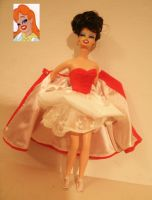 tex avery babe doll ooak red by lulemee