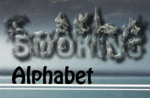 Smoking Alphabet by weegieschemie