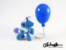 Blind Bag Pierce custom MLP by thatg33kgirl
