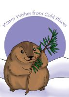 lemming christmas card by hermitchild