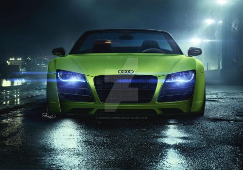 Audi R8 Prior by GoodieDesign