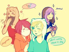 Pewdie and Friends: Blackmail by DuckZuu