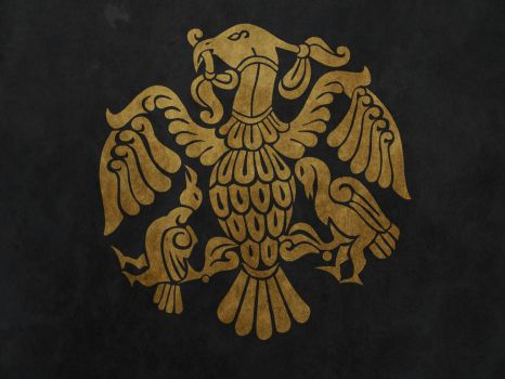 Empire of the huns flag by Lordnarunh