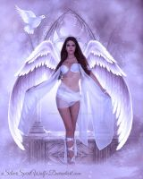 The Angel Above {R.I.P Nick Stone} by xSilverSpiritWolfx