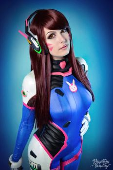 Dva - Overwatch by Kinpatsu-Cosplay
