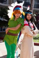 Peter Pan and Tiger Lily by EriTesPhoto