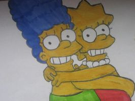 Just Marge and Lisa by Meg771