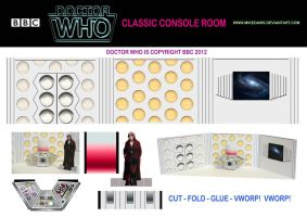 Doctor Who - Classic Console Room by mikedaws