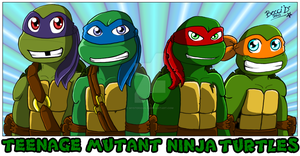 TMNT T-shirt Design by Mysterious-D