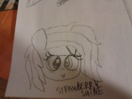 Old sketches: Strawberry Shine by cottoncloudyfilly