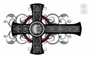 celtic cross tattoo design by gismo84
