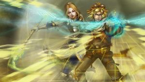 LoL - Ezreal Lux splash by ConShinn