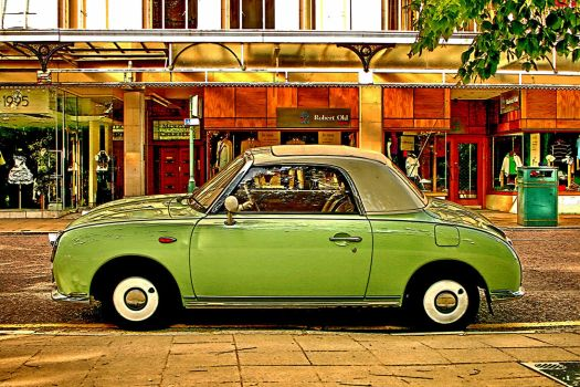 Nissan Figaro roadster by UdoChristmann