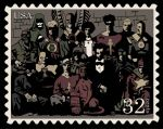 JSA meets Hellboy - Stamp by Gat0rl1veBEATZ