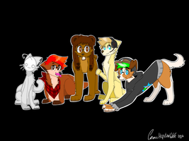 .:the youtube squad:. by Petrichor-Autumn