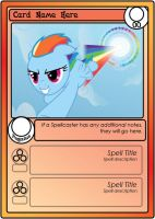 My Little Pony Card Game - Card Template Demo by ShrimpBisque