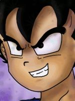 Kid Vegeta GIF_Animation by Mirinata