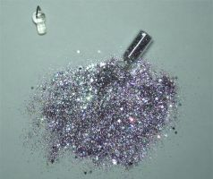 Violet Glitter 1 by Aquastock