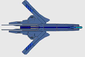 Valkiir SwitchBlade Stealth Frigate by wbyrd