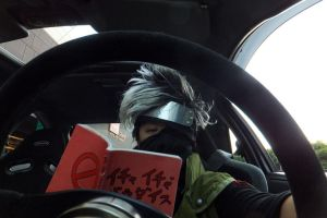 Reading While Driving by Bkitten