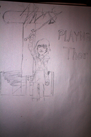 Playing Thor - Hiccup by MetalJacksonFire
