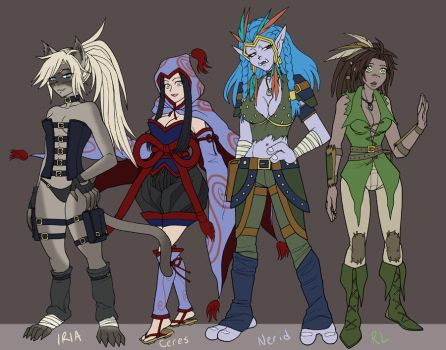 DnD lineup by pyrogina