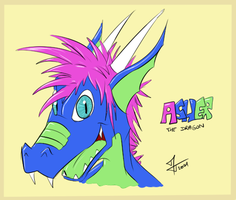 Gift - Asher the dragon by McTaylis