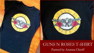 Guns N Roses T-Shirt by RAMENmanga-ka