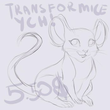 Transformice YCH - 5.50 usd - OPEN! by CottonCandyTail
