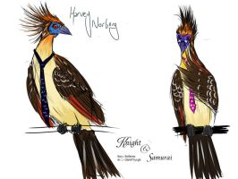 Harvey the Hoatzin by ivanka-a