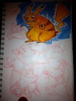 Pokemon sketches by MiketheMike