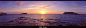 Cala comte HDR sunset by Elilustratodo