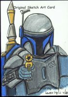 Jango Fett by LauraInglis