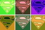 Superman pop art 6 panel by DevintheCool