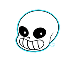 Sans gif by LiarClary