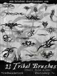 GIMP Tribal-Small Brushes by Project-GimpBC