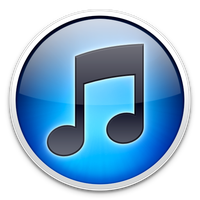 Blue iTunes Icon by TheArcSage
