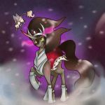 It's oke Sombra CHe just wants to be your friend by Pony-UnTastic