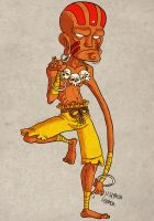++Comission++ Dhalsim by yllya