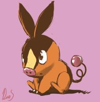 Tepig by Silverkiwi78