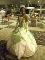 Otakon 2013 - Princess Tiana by mugiwaraJM