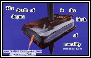 Death to Dogma by AAtheist