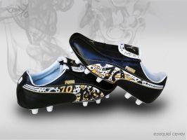 Custom shoes - Soccer by surfender